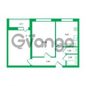 Продается квартира 2-ком 52.54 м² Колтушское шоссе 1к 3, метро Улица Дыбенко