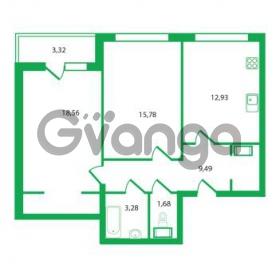 Продается квартира 2-ком 61.72 м² Колтушское шоссе 1к 3, метро Улица Дыбенко