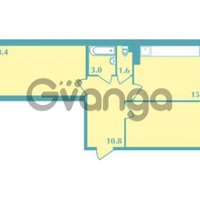 Продается квартира 2-ком 66.1 м² Валдайская улица 11, метро Купчино