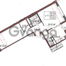 Продается квартира 2-ком 70 м² Шишканя 14, метро Ладожская
