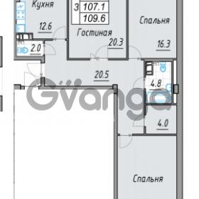 Продается квартира 3-ком 109 м² 24 линия В.О. 29А, метро Василеостровская