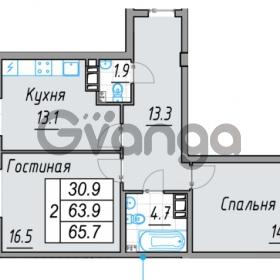 Продается квартира 2-ком 65 м² 24 линия В.О. 29А, метро Василеостровская