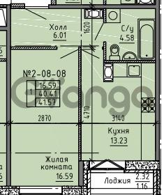 Продается квартира 1-ком 41 м² Советский проспект 24, метро Рыбацкое