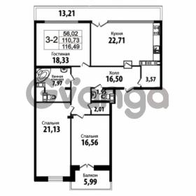 Продается квартира 3-ком 110.73 м² Кирочная улица 57, метро Чернышевская