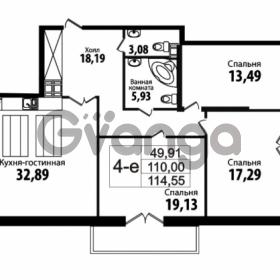 Продается квартира 3-ком 110 м² Кирочная улица 57, метро Чернышевская