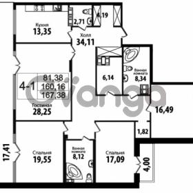 Продается квартира 4-ком 160.16 м² Кирочная улица 57, метро Чернышевская