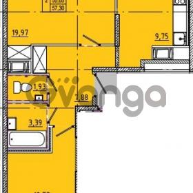 Продается квартира 2-ком 57 м² Камышинская улица 22к 2, метро Ладожская