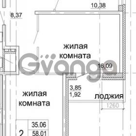 Продается квартира 2-ком 59 м² бульвар Менделеева 13, метро Девяткино