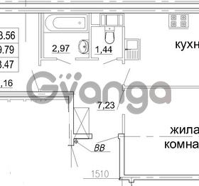 Продается квартира 2-ком 63 м² бульвар Менделеева 13, метро Девяткино