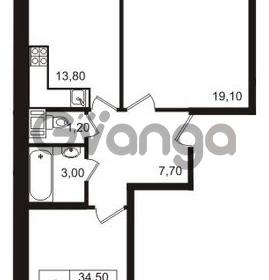 Продается квартира 2-ком 62 м² бульвар Менделеева 15, метро Девяткино