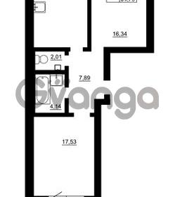 Продается квартира 2-ком 63 м² Гражданская улица 9, метро Девяткино