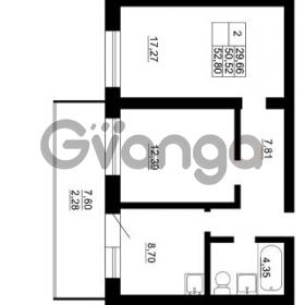 Продается квартира 2-ком 50 м² Гражданская улица 9, метро Девяткино