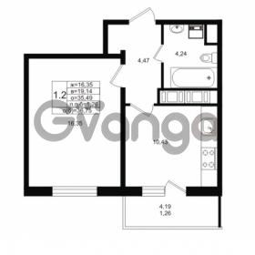 Продается квартира 1-ком 35 м² проспект Энергетиков 9, метро Ладожская