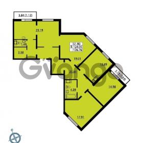 Продается квартира 4-ком 126.76 м² Ленинский проспект 69, метро Проспект Ветеранов