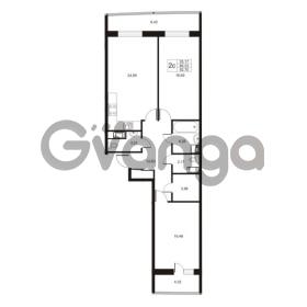 Продается квартира 2-ком 92.7 м² улица Катерников 1, метро Проспект Ветеранов
