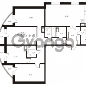 Продается квартира 4-ком 153.8 м² улица Катерников 1, метро Проспект Ветеранов