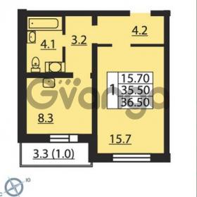 Продается квартира 1-ком 36 м² проспект Маршака 1, метро Гражданский проспект