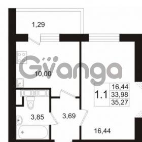 Продается квартира 1-ком 33 м² улица Катерников 1, метро Проспект Ветеранов