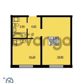Продается квартира 1-ком 37 м² Южное шоссе 110, метро Международная