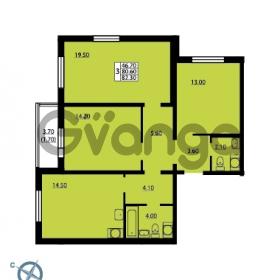 Продается квартира 3-ком 82.3 м² Южное шоссе 114, метро Международная