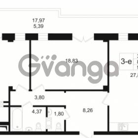 Продается квартира 2-ком 86.92 м² Малый пр. В.О. 64, метро Василеостровская