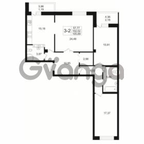 Продается квартира 3-ком 102.52 м² Малый пр. В.О. 64, метро Василеостровская