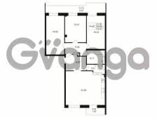 Продается квартира 3-ком 109.66 м² Малый пр. В.О. 64, метро Василеостровская