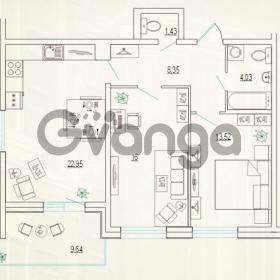Продается квартира 2-ком 71.1 м² улица Типанова 25, метро Московская