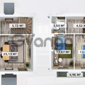 Продается квартира 2-ком 71 м² Центральная улица 6, метро Купчино