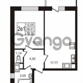 Продается квартира 1-ком 38 м² Советский проспект 42, метро Рыбацкое
