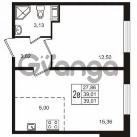 Продается квартира 1-ком 39 м² улица Пионерстроя 29, метро Проспект Ветеранов
