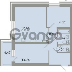 Продается квартира 2-ком 61 м² проспект Народного Ополчения 149, метро Проспект Ветеранов