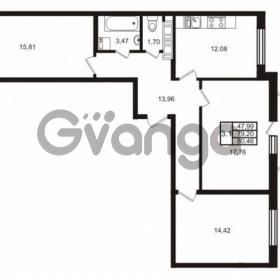 Продается квартира 3-ком 79 м² Комендантский проспект 53к 1, метро Комендантский проспект