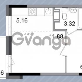 Продается квартира 1-ком 27.6 м² Петергофское шоссе 76к 1, метро Проспект Ветеранов
