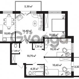 Продается квартира 3-ком 79.15 м² Центральная улица 57, метро Ладожская