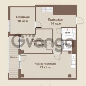Продается квартира 2-ком 60 м² площадь Европы 1, метро Приморская