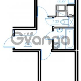 Продается квартира 1-ком 43.5 м² Бестужевская улица 54, метро Ладожская
