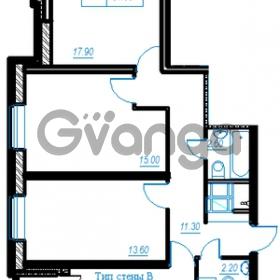 Продается квартира 3-ком 81 м² Бестужевская улица 54, метро Ладожская