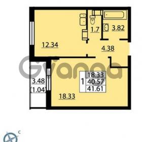 Продается квартира 1-ком 41 м² Балтийский бульвар 1, метро Проспект Ветеранов