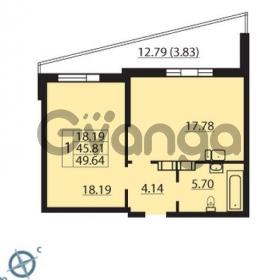 Продается квартира 1-ком 49 м² Балтийский бульвар 1, метро Проспект Ветеранов