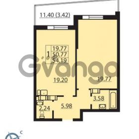 Продается квартира 1-ком 54 м² Балтийский бульвар 1, метро Проспект Ветеранов