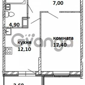 Продается квартира 1-ком 42 м² Московский проспект 115, метро Московские ворота