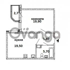 Продается квартира 1-ком 51 м² Московский проспект 115, метро Московские ворота