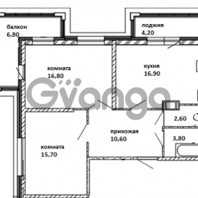 Продается квартира 2-ком 70 м² Московский проспект 115, метро Московские ворота