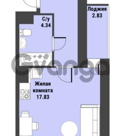 Продается квартира 1-ком 30 м² Советский проспект 24, метро Рыбацкое