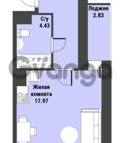 Продается квартира 1-ком 31 м² Советский проспект 24, метро Рыбацкое