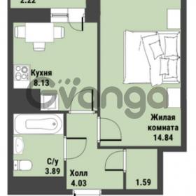 Продается квартира 1-ком 33 м² Советский проспект 24, метро Рыбацкое