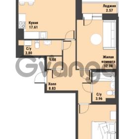 Продается квартира 2-ком 64 м² Советский проспект 24, метро Рыбацкое