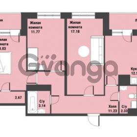 Продается квартира 3-ком 77 м² Советский проспект 24, метро Рыбацкое