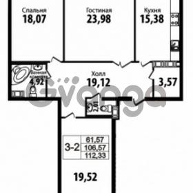 Продается квартира 3-ком 106 м² Кирочная улица 57, метро Чернышевская